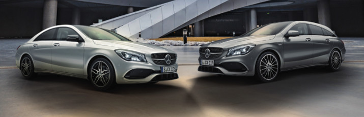 Nuevo CLA 180 Coupe y Shooting Brake Sportive AMG